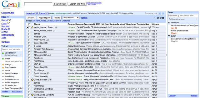Firefox Add-On Integrates Todo List into Gmail - PCMech