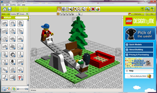 Time to play with blocks lego digital designer pcmech image pronofoot35fo Images