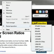 How To Resize Windows To Popular Resolutions In Two Clicks
