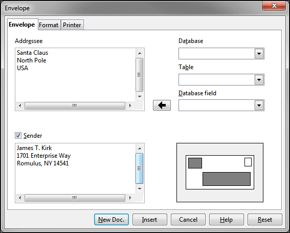 Libreoffice writer default paper size