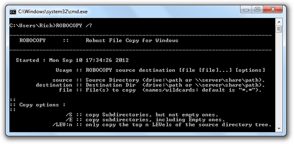 A Windows Copy Tool You Didn't Know Existed: Robocopy