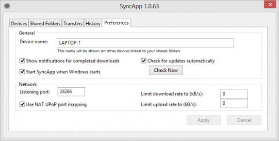 bittorrent-sync-preferences