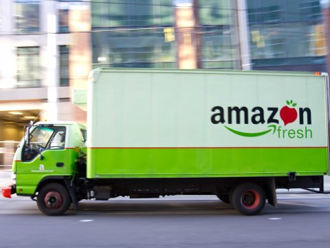 Amazon Is Planning Its Own Private Fleet Of Delivery Trucks – Business Insider
