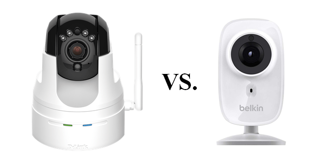 IP Camera Review:  Belkin WeMo NetCam HD+ vs. D-Link Wireless HD Pan & Tilt Network Surveillance Camera