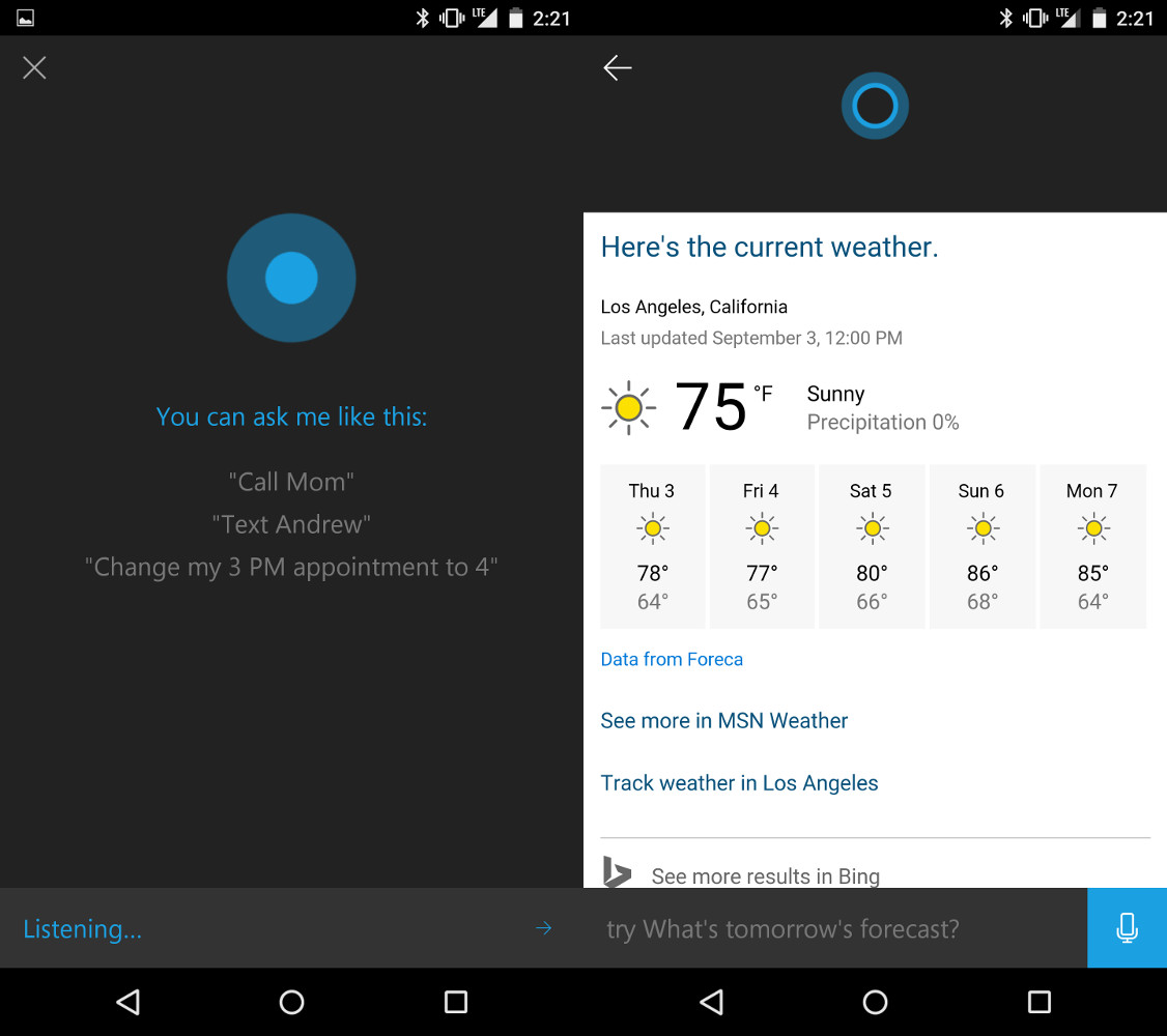 Review: Cortana For Android Is Great, But It's Certainly Still In Beta