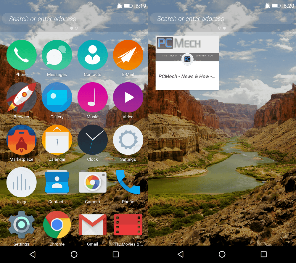 Mozilla Firefox OS 2.5 Android Developer Preview Review