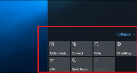 How to Customize the Windows 10 Action Panel With Your Own Buttons