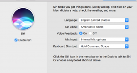 How To Configure Siri In MacOS Sierra