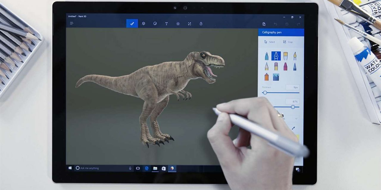 How to make your own 3D creations with Paint 3D