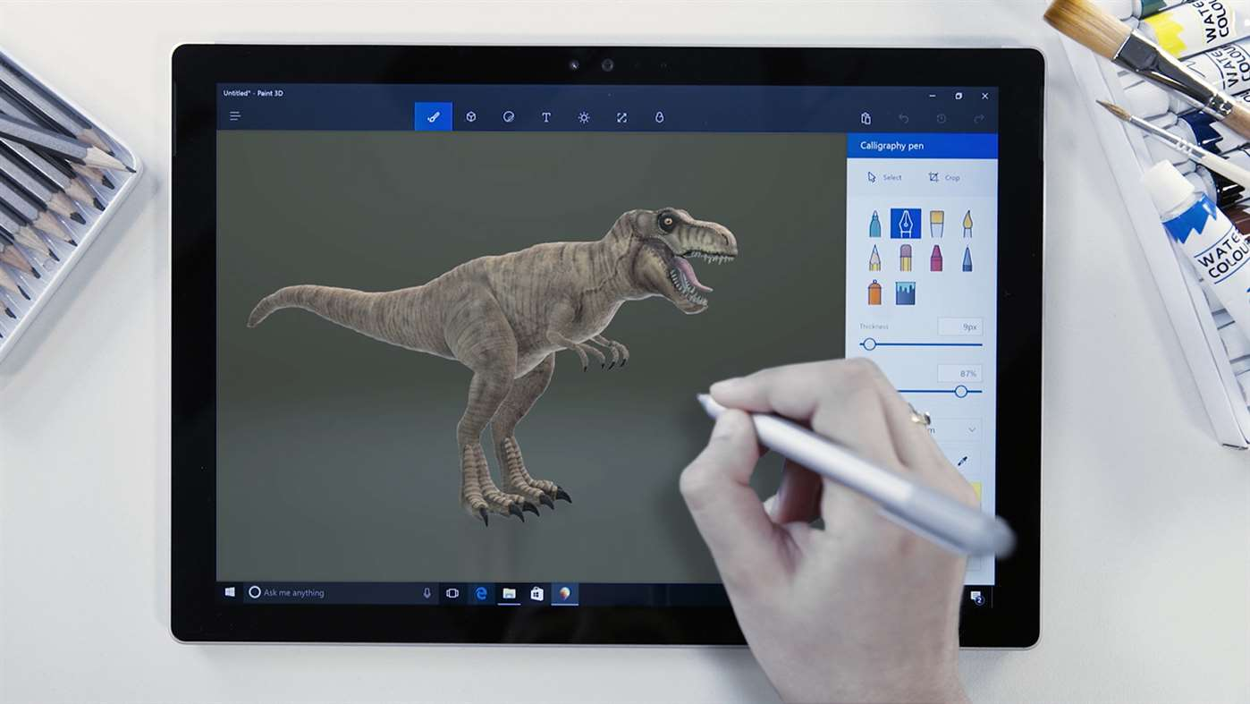 How to make your own 3D creations with Paint 3D - PCMech