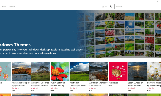 How to use Desktop Themes in Windows 10