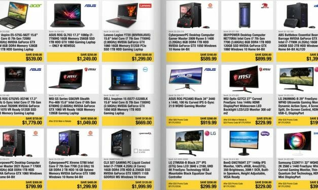 Black Friday Deals Start Early for PC Users