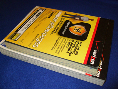 deliver yellow pages phone books